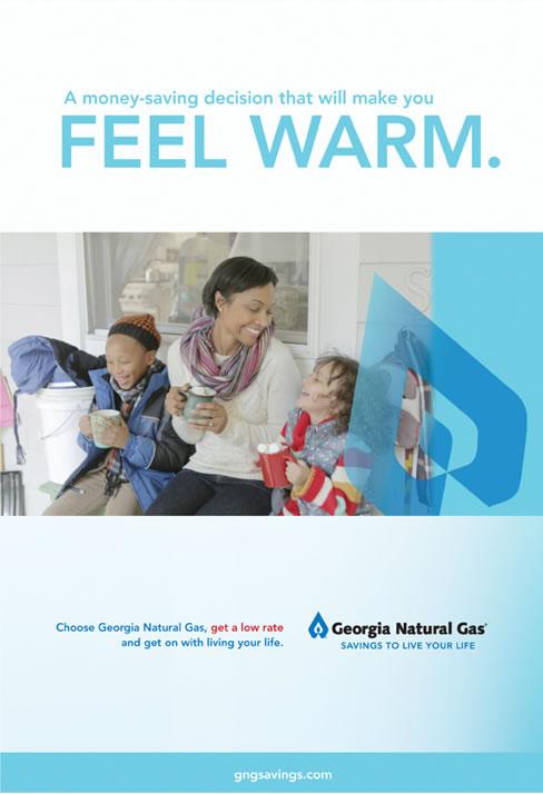 Georgia Natural Gas - Feel Warm