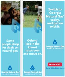 Georgia Natural Gas Banners