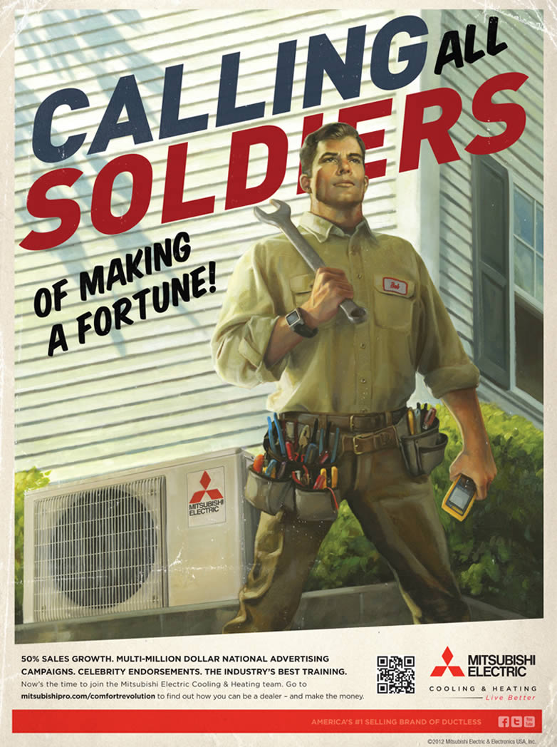 Mitsubishi Electric - Calling All Soldiers